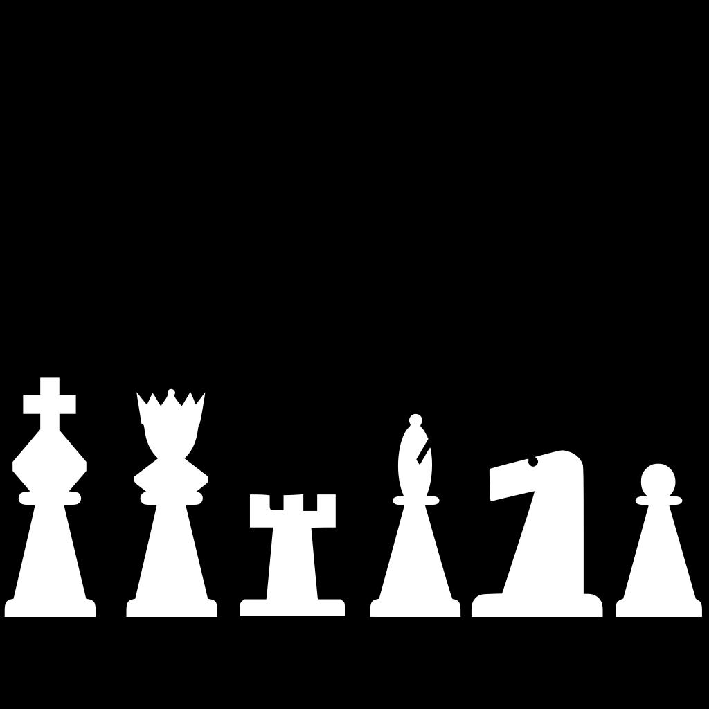 Chess Titans SVG Clip arts