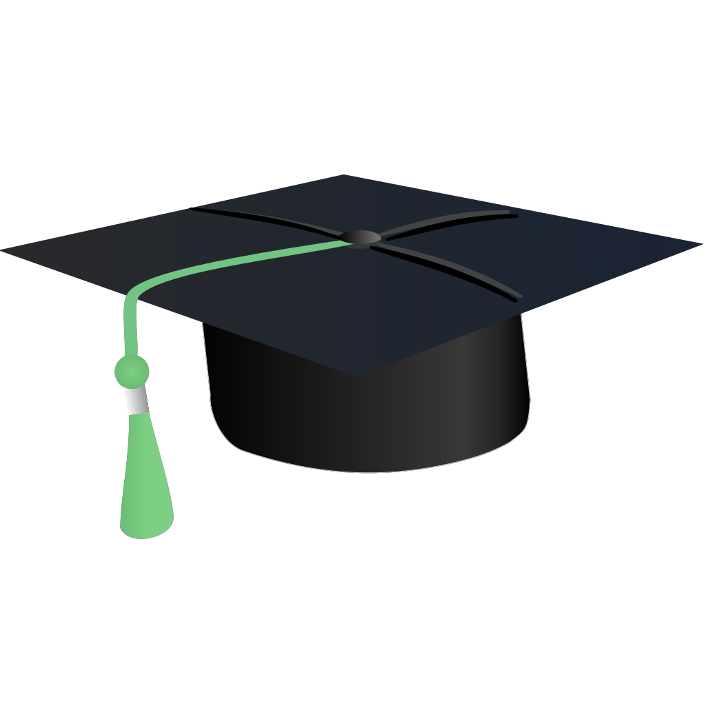 Graduation Hat Cap SVG Clip arts
