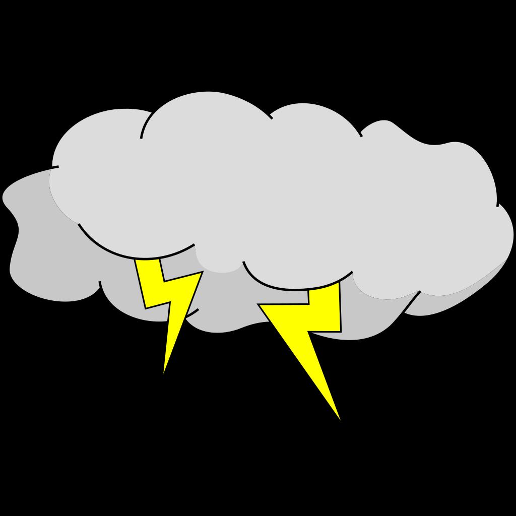 Storm Cloud SVG Clip arts