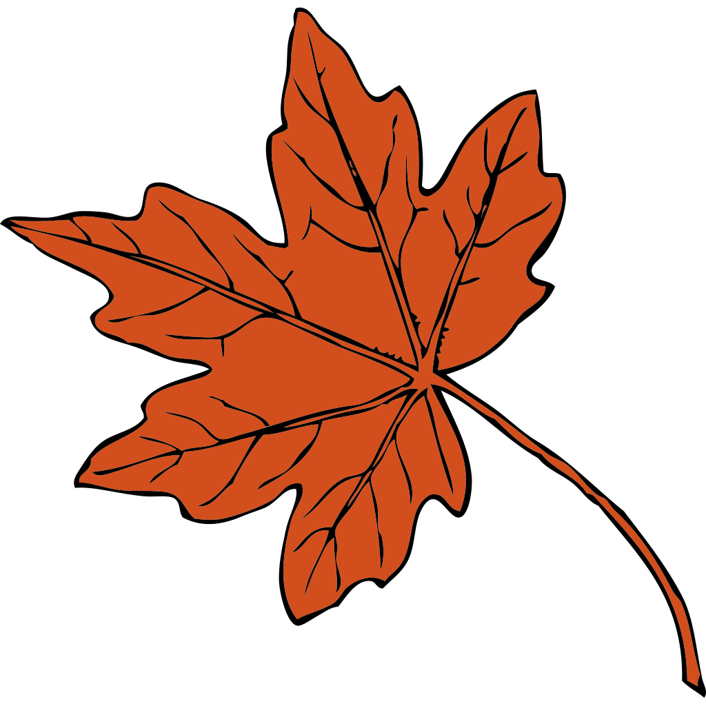 Maple Leaf SVG Clip arts
