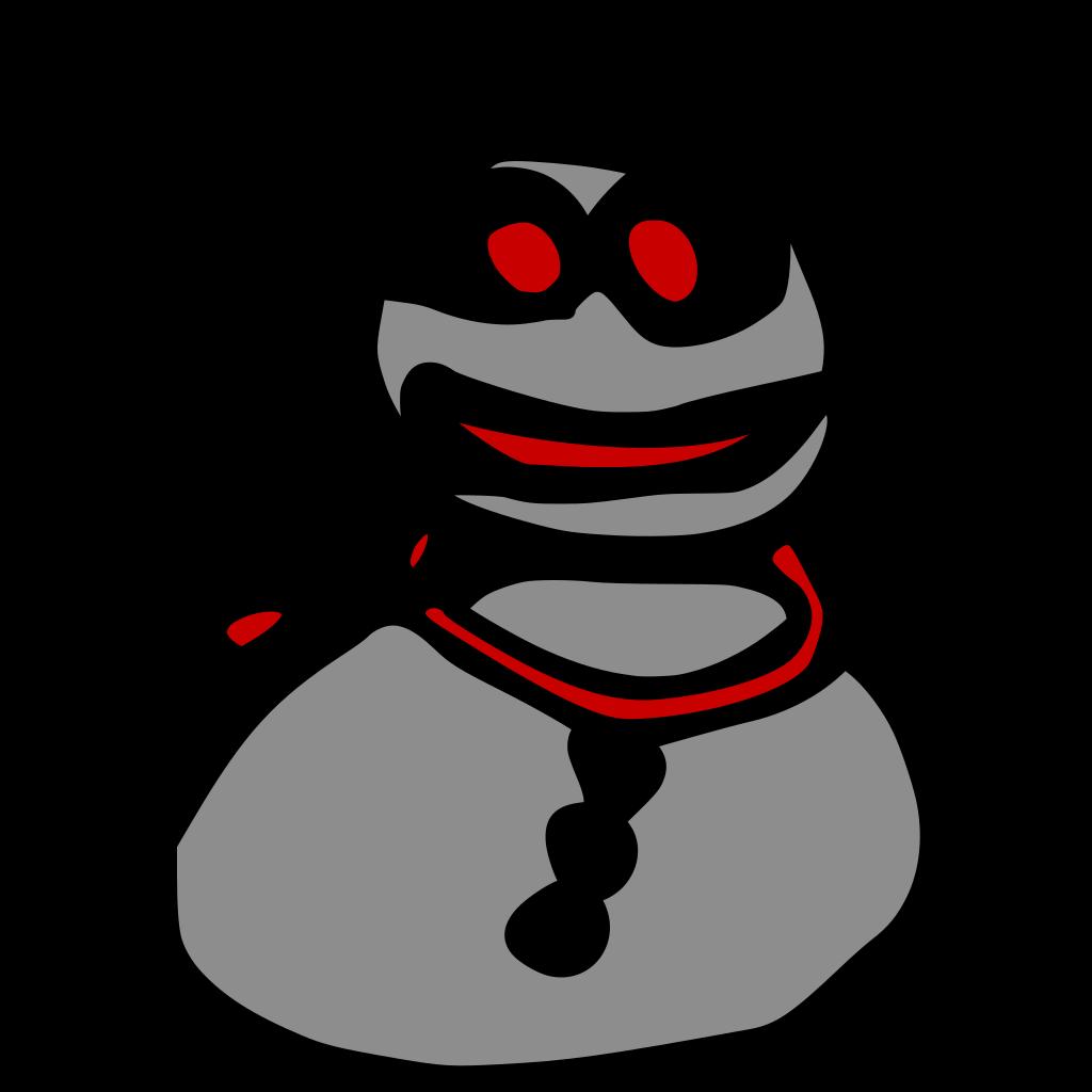 Snowman SVG Clip arts