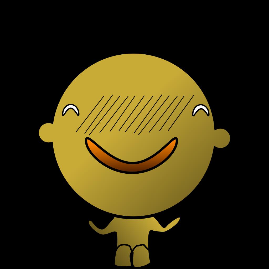Chakulae Happy Smiling SVG Clip arts
