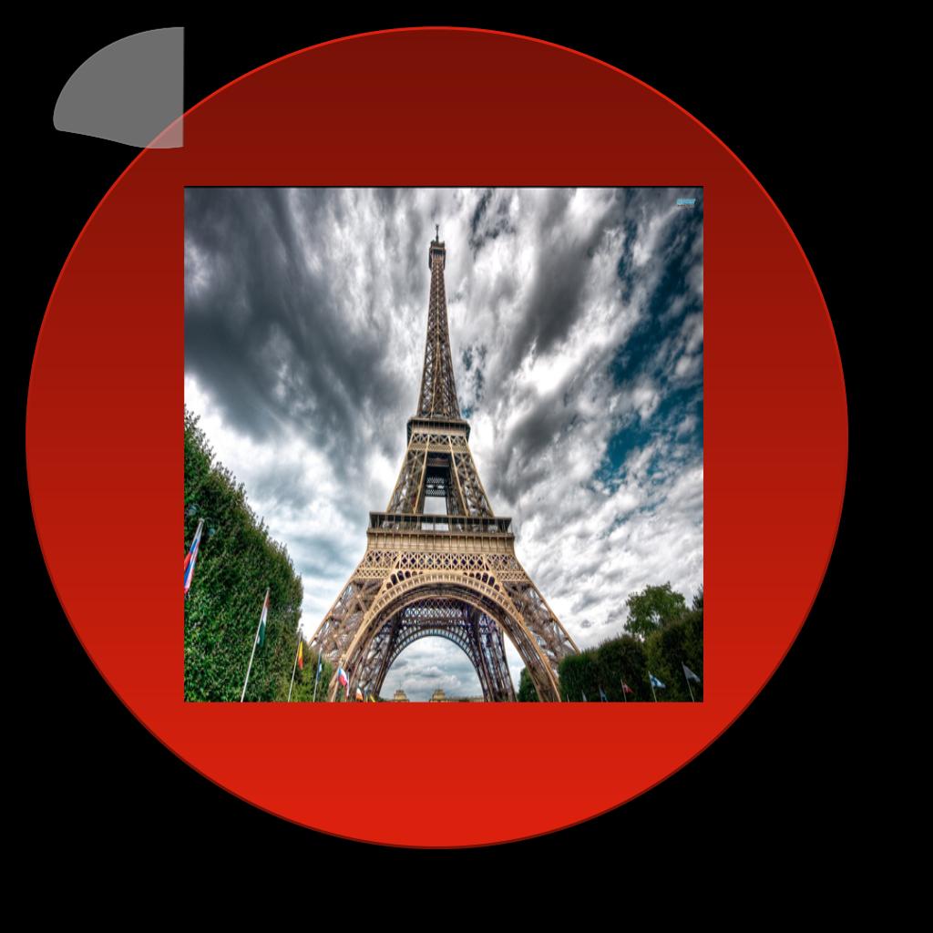 Eiffel tower large. Paris png svg clip
