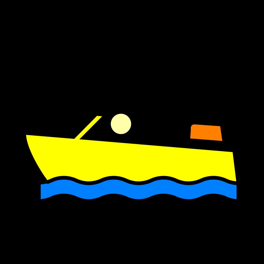 Speed Boat SVG Clip arts