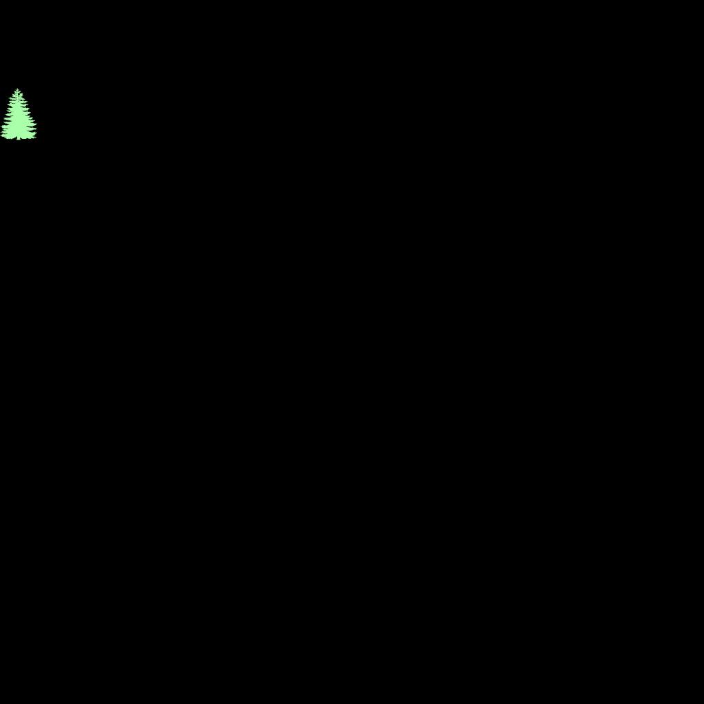 Pine Tree  SVG Clip arts