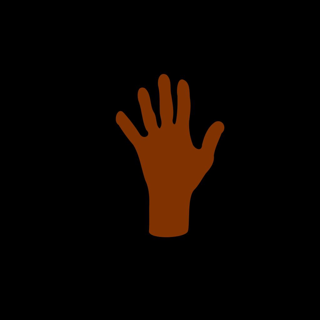 Human Hand SVG Clip arts