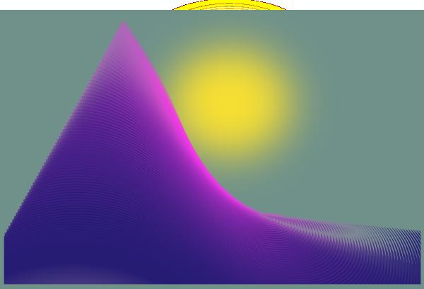 Landscape 6 SVG Clip arts
