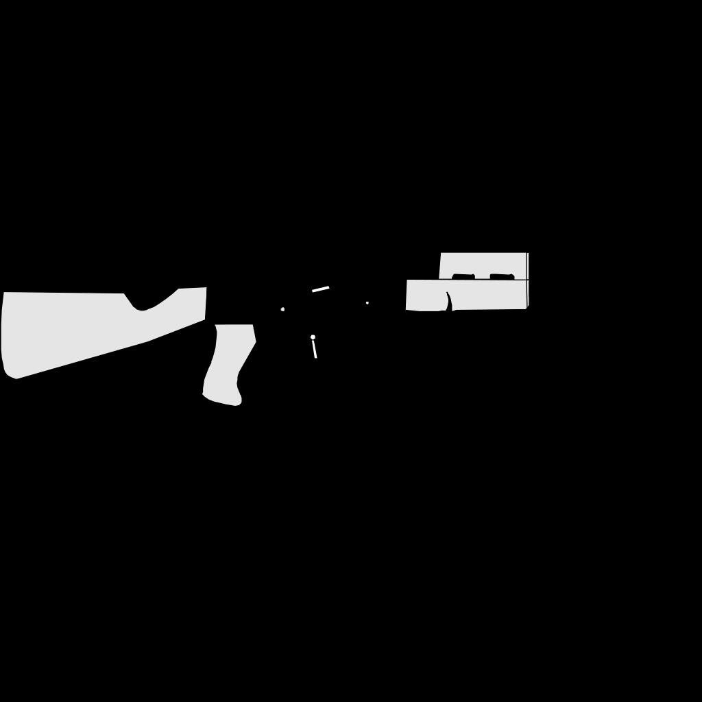 Ak47 Gun SVG Clip arts