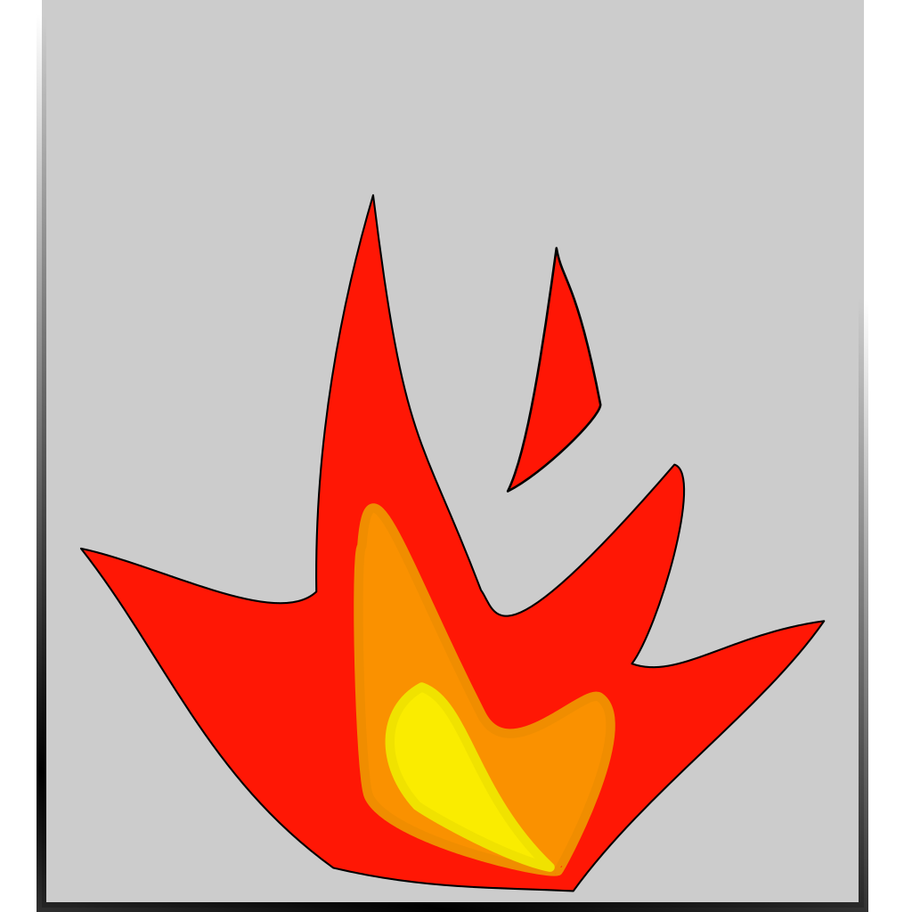Fired SVG Clip arts