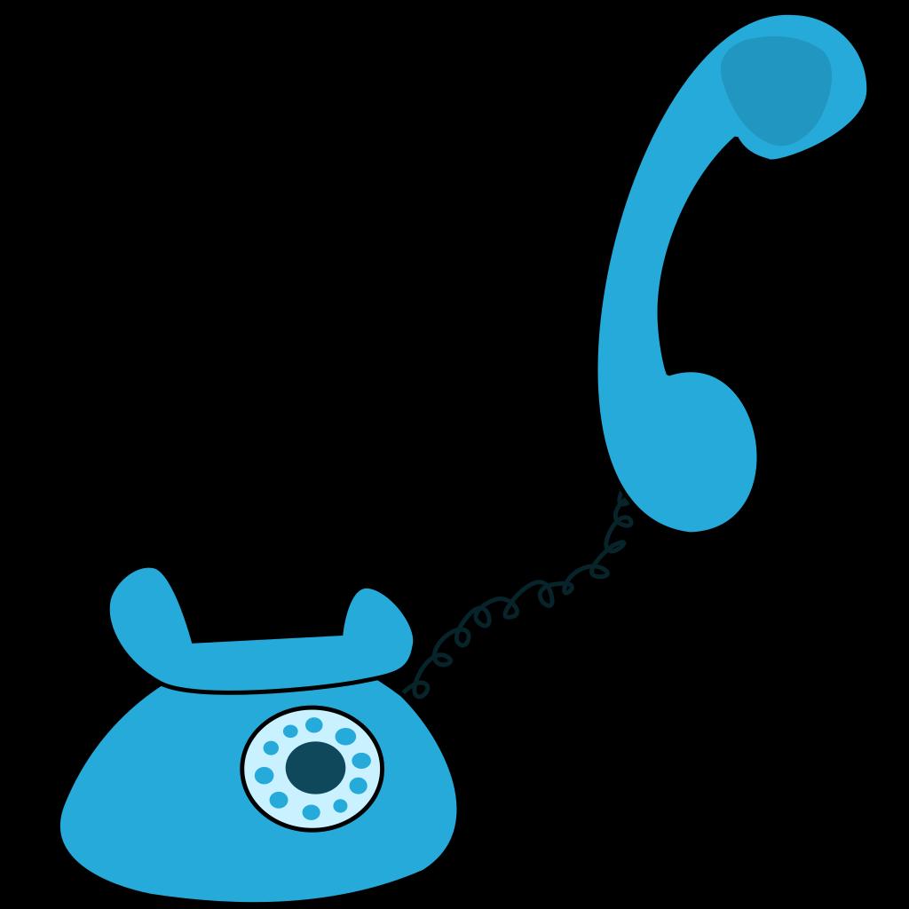 Cartoon Telephone SVG Clip arts