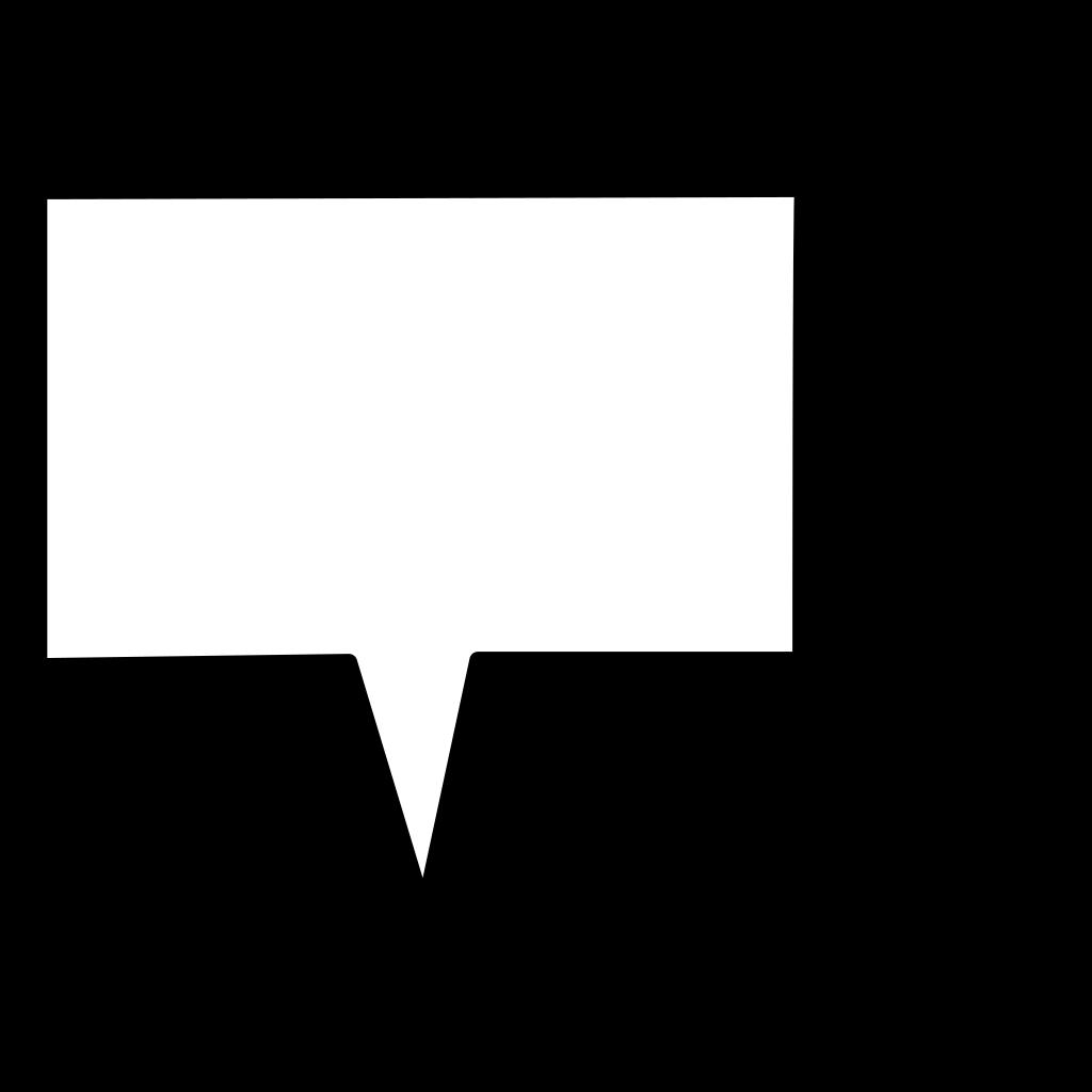 Speech1 SVG Clip arts