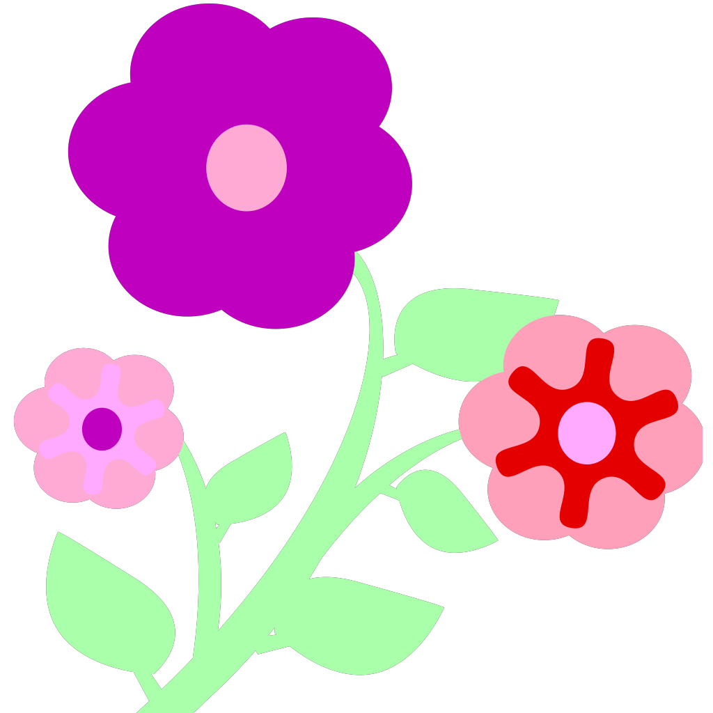 Flowers SVG Clip arts