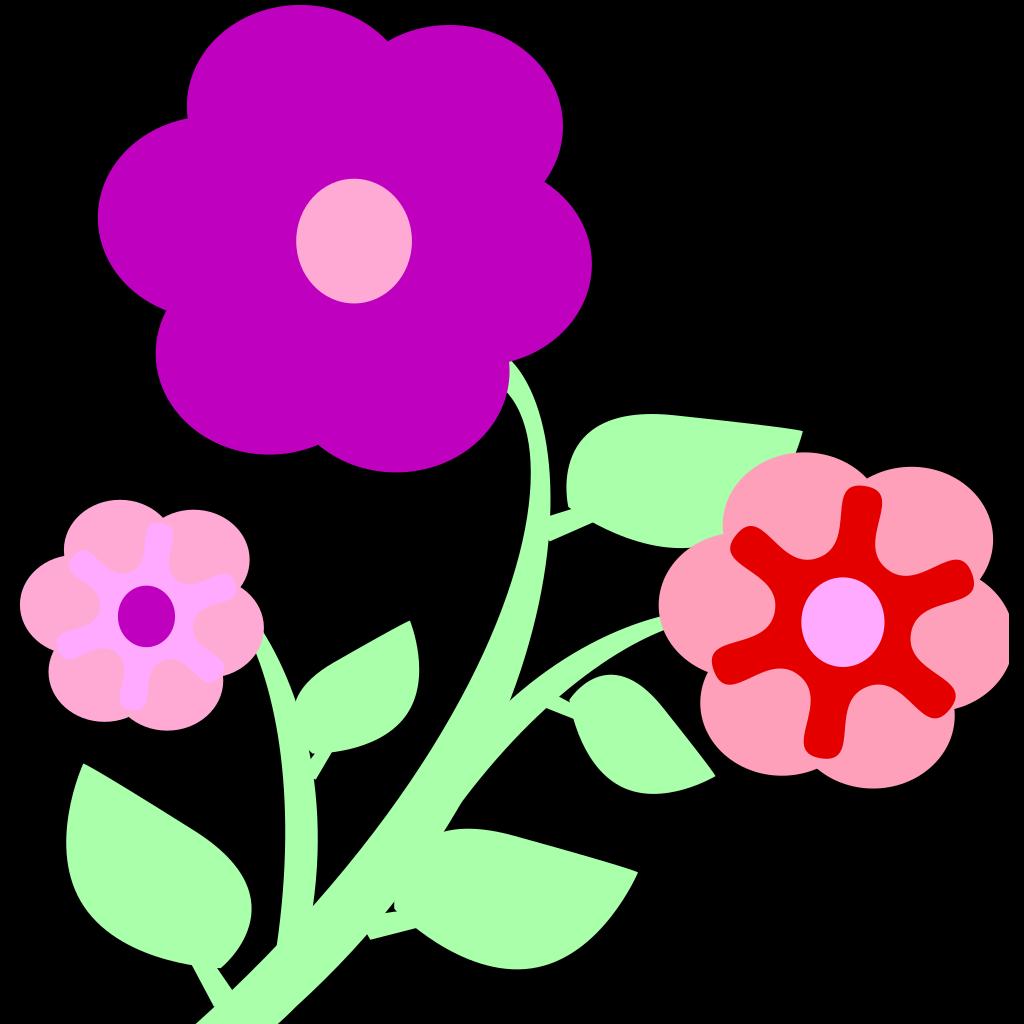 Flowers SVG Clip arts