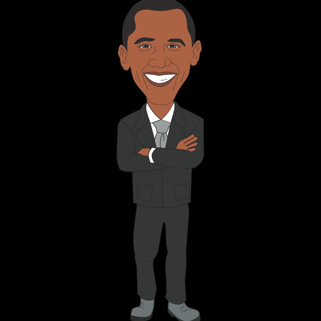 President Obama SVG Clip arts