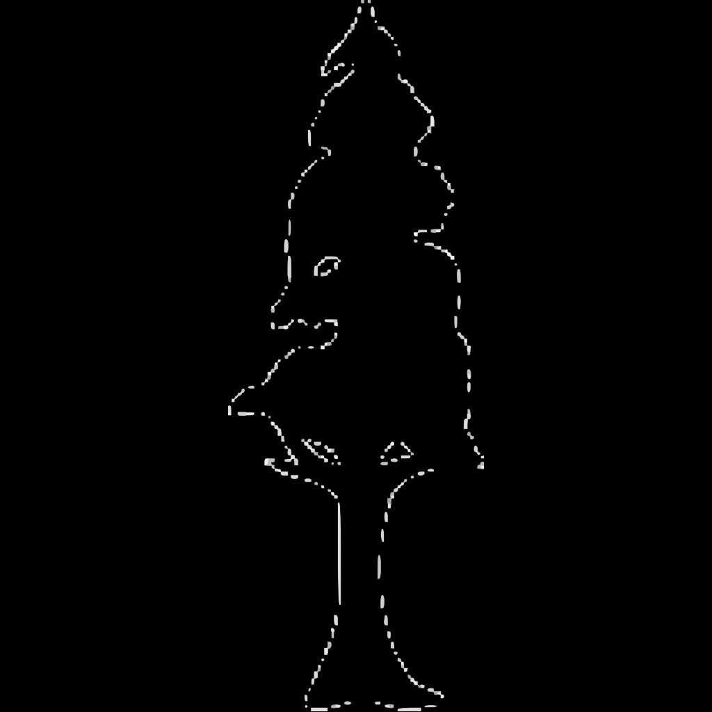 Wedding Tree For Invitation SVG Clip arts
