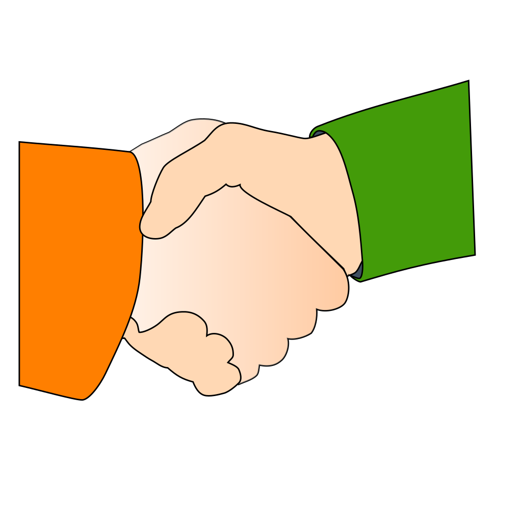 Shaking Hands SVG Clip arts
