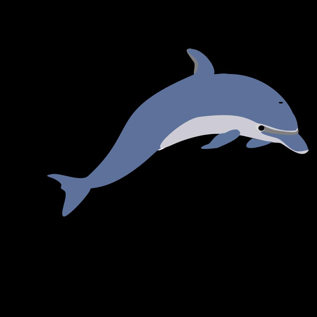 Dolphin Tattoo Style SVG Clip arts