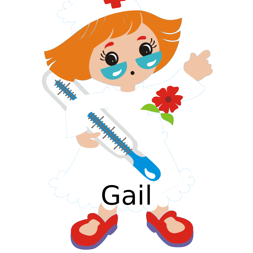 Gail SVG Clip arts