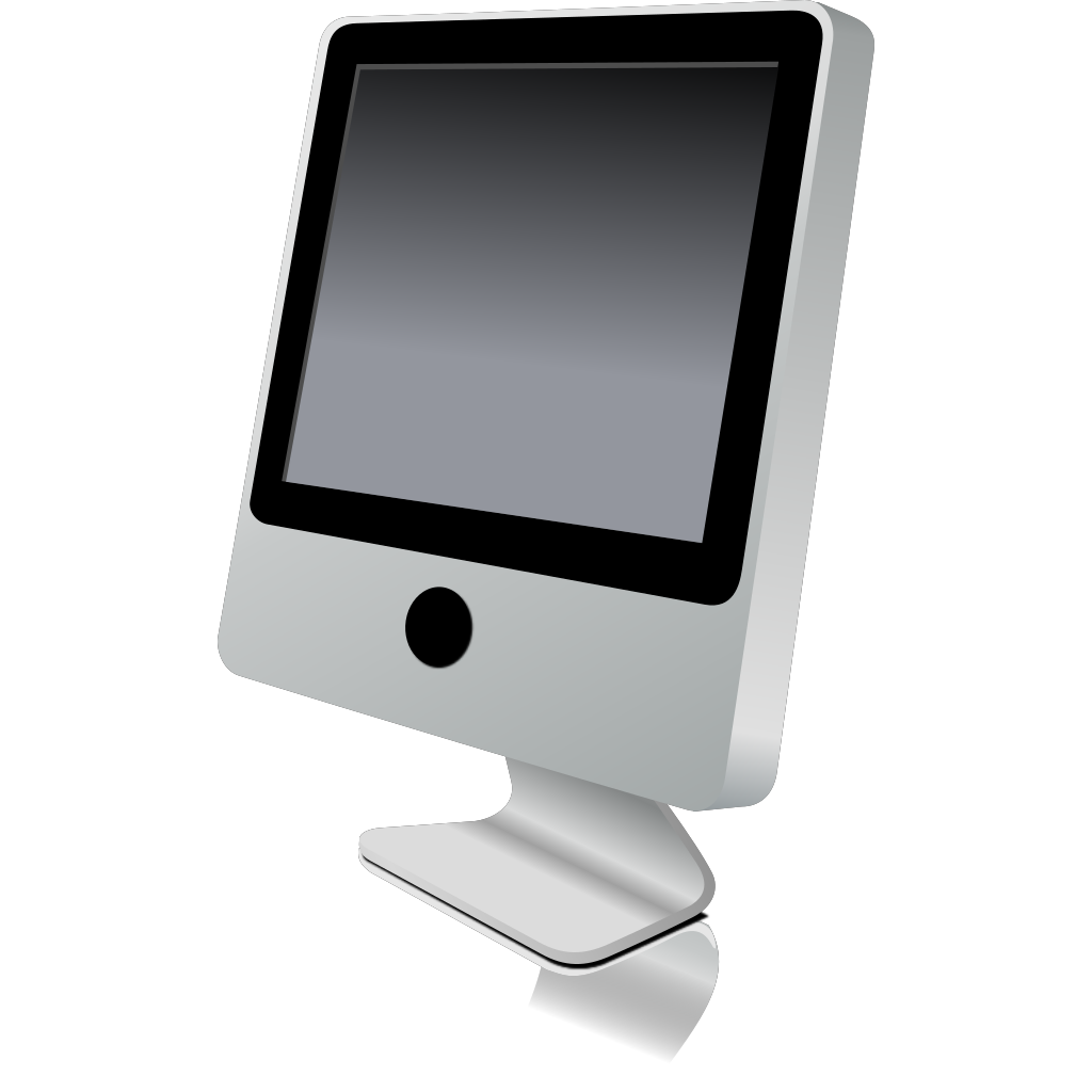 Computer Monitor SVG Clip arts