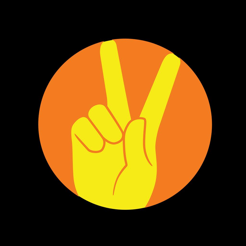 Alien Making Peace Sign Png Svg Clip Art For Web Download Clip
