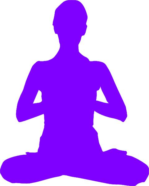 Meditation SVG Clip arts