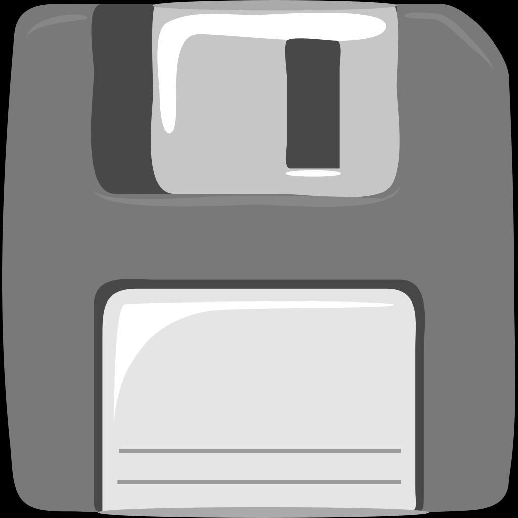 Cartoon Floppy Disk SVG Clip arts