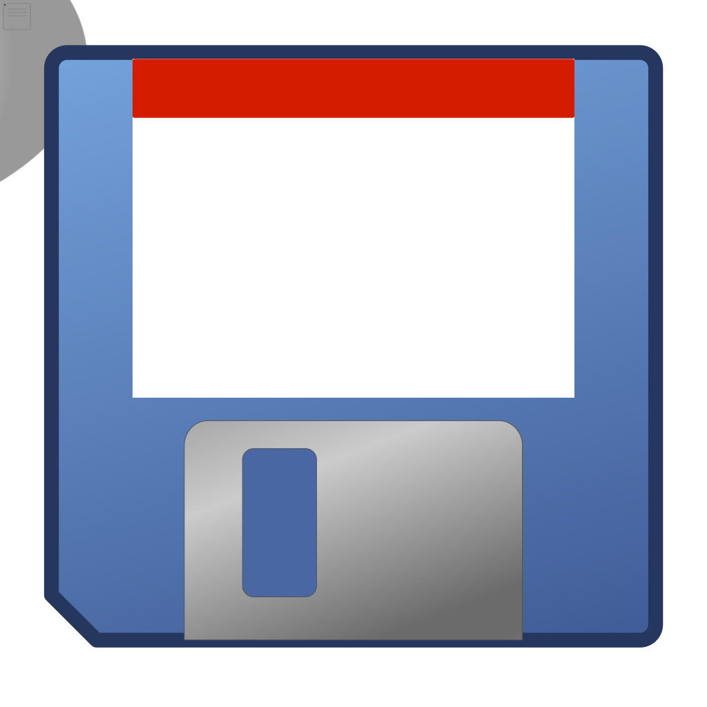 Media Floppy SVG Clip arts