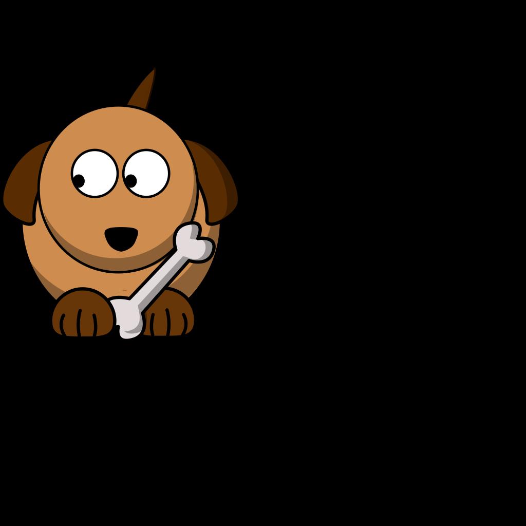 Dog Looking Left 02 SVG Clip arts