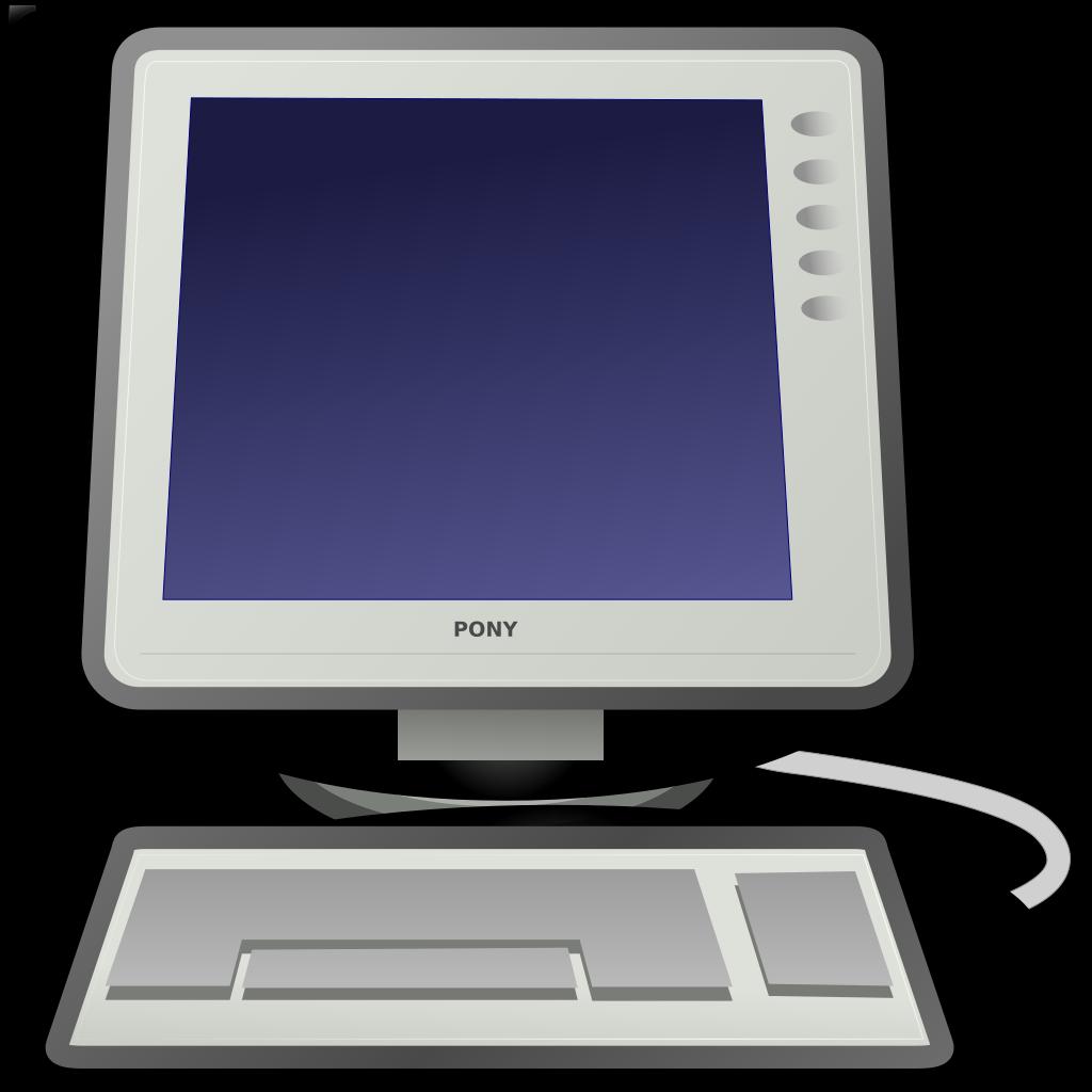 Computer SVG Clip arts