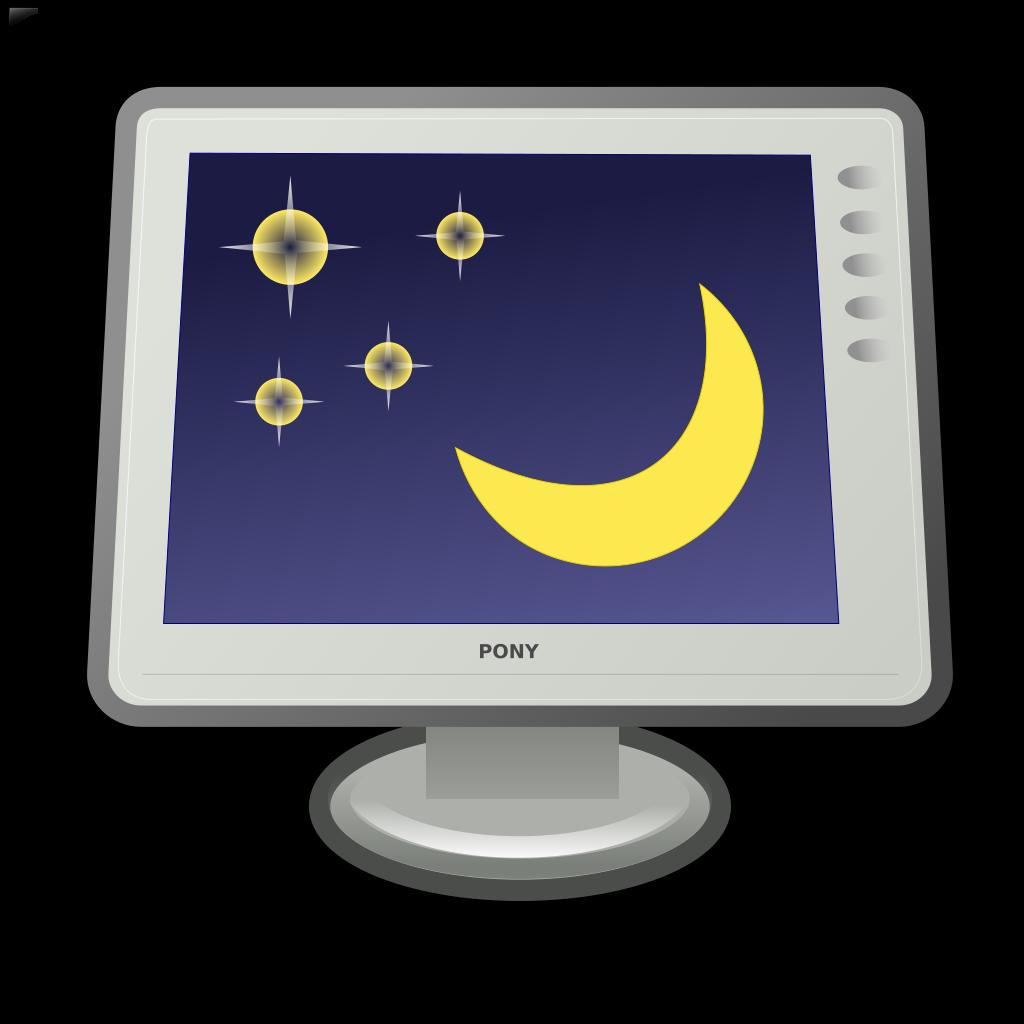 Preferences Desktop Screensaver SVG Clip arts