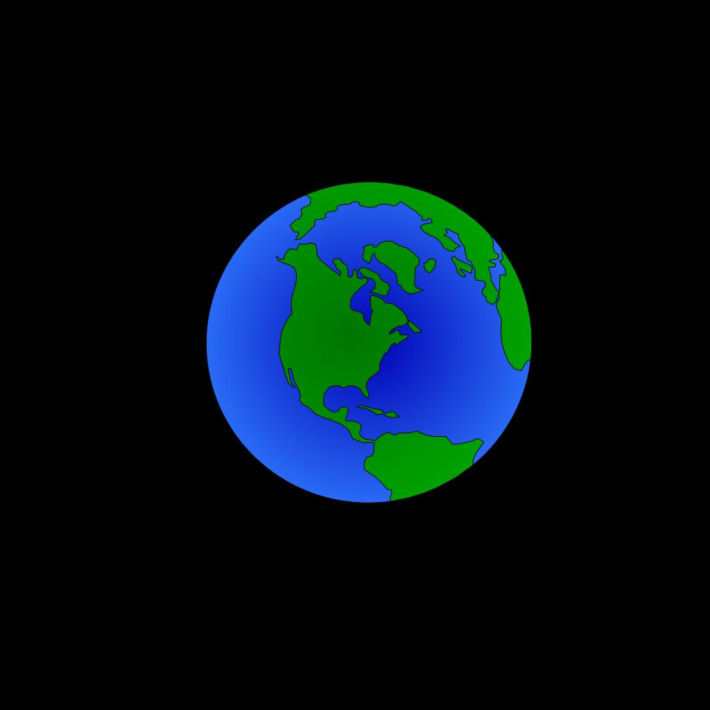 Planet Earth SVG Clip arts