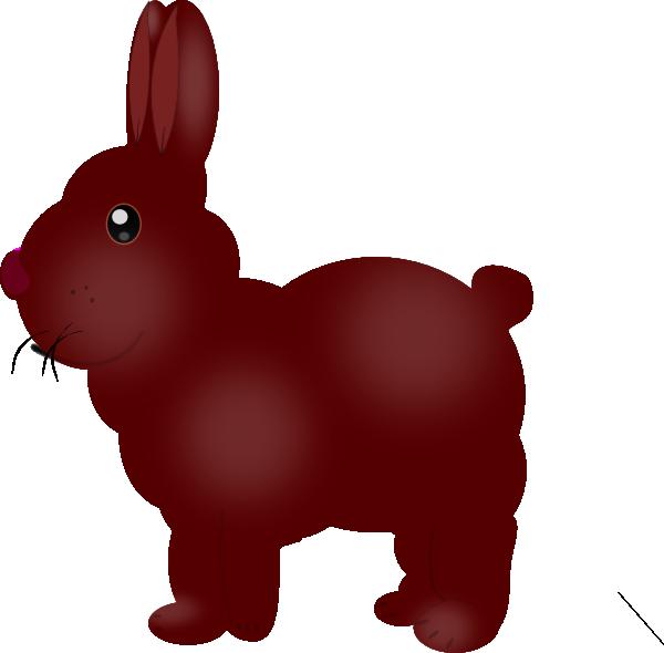 Chocolate Bunny SVG Clip arts