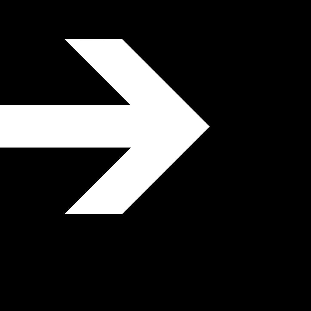 White Arrow In A Green Rectangle SVG Clip arts