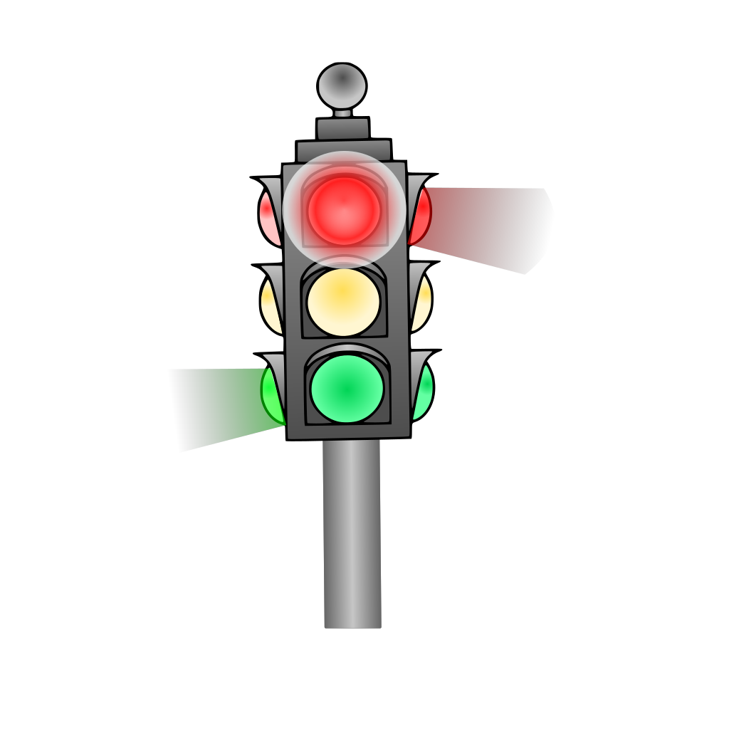 Traffic Light SVG Clip arts