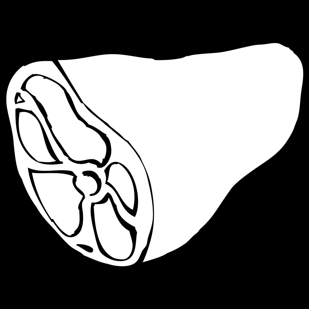 Contour Hamster SVG Clip arts