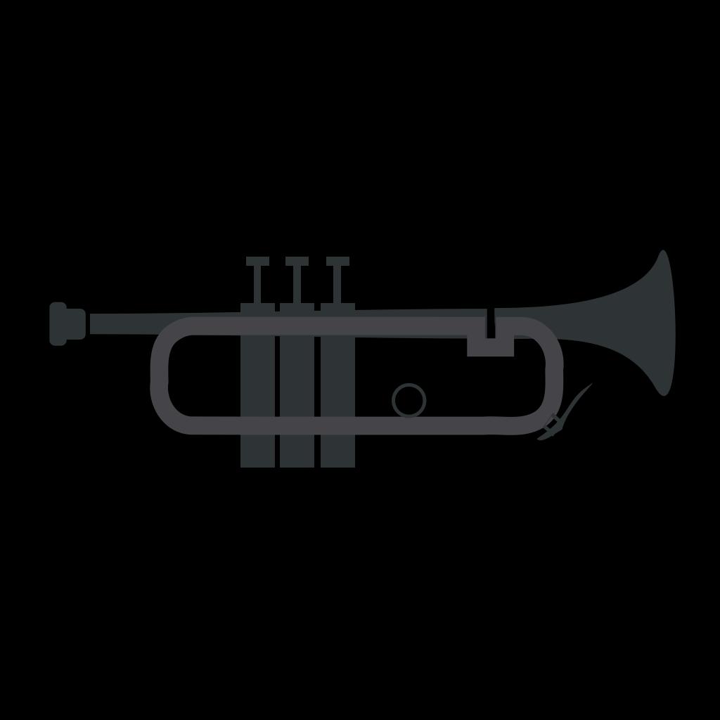 Trumpet SVG Clip arts