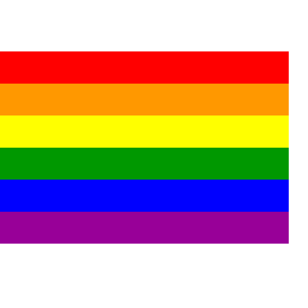 Rainbow Flag SVG Clip arts