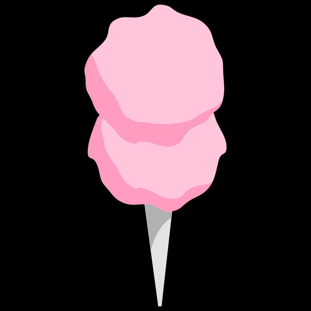 Cotton Candy SVG Clip arts