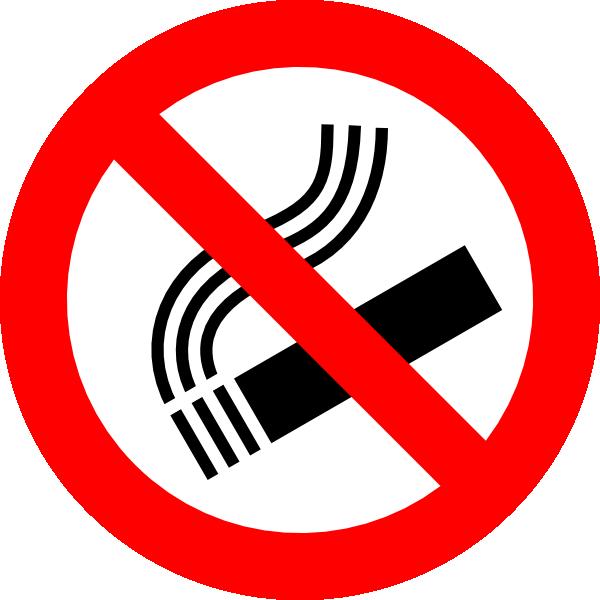 No Smoking Sign SVG Clip arts