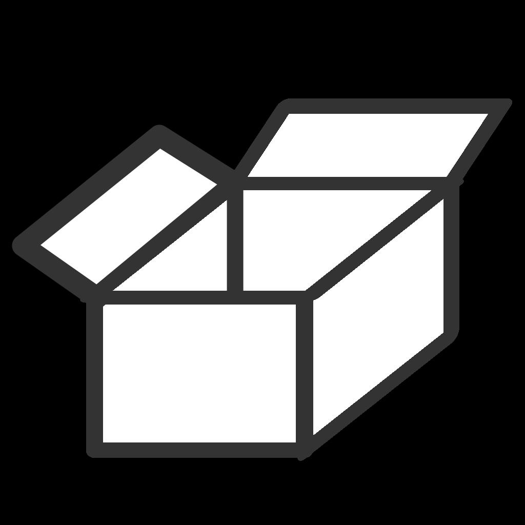 Raccoon Opening Box SVG Clip arts