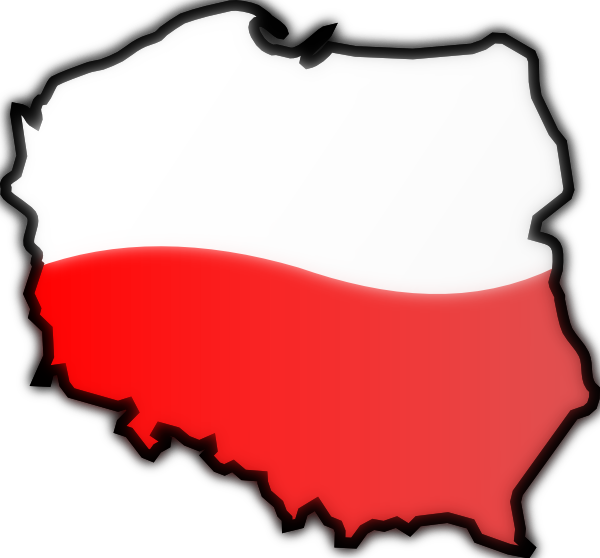Map Of Poland 2 SVG Clip arts