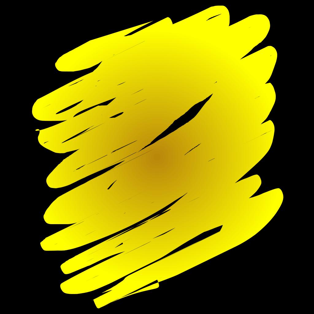 Yellow Shades SVG Clip arts