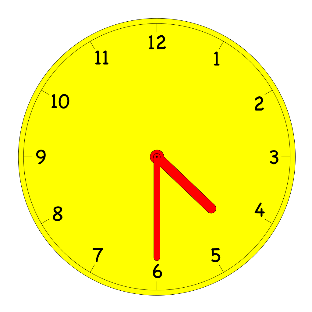 Clock SVG Clip arts
