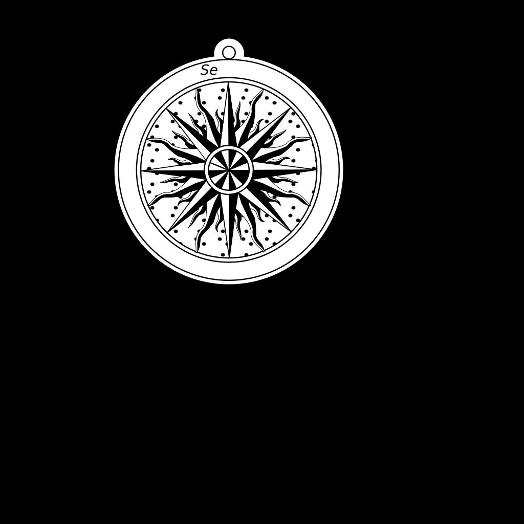 Wind Rose Compass Rose SVG Clip arts