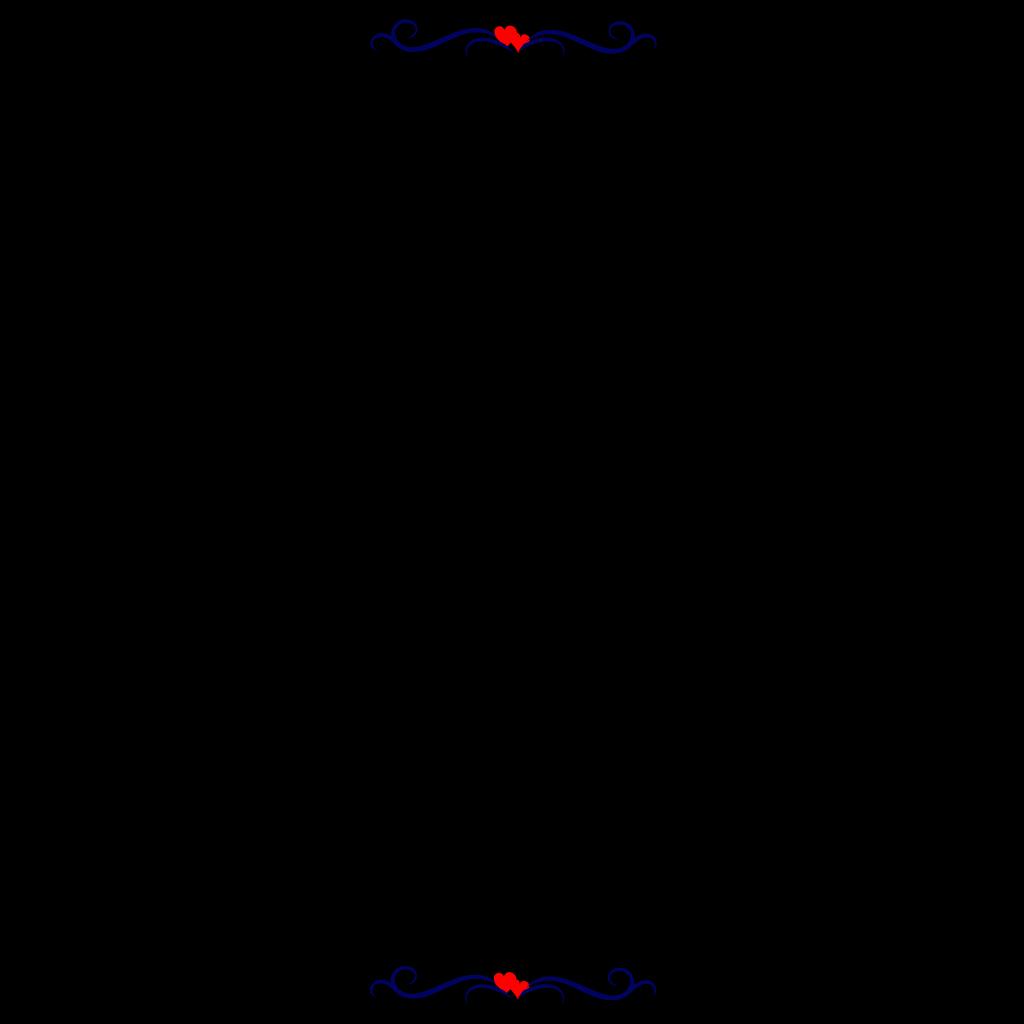 Red-heart-border SVG Clip arts