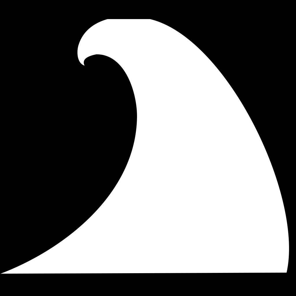 Wave Coloring SVG Clip arts