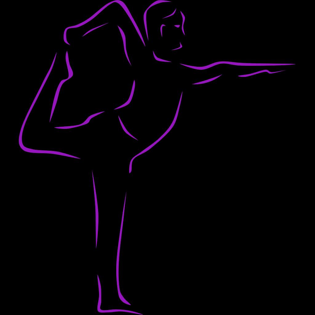 Yogaheather SVG Clip arts