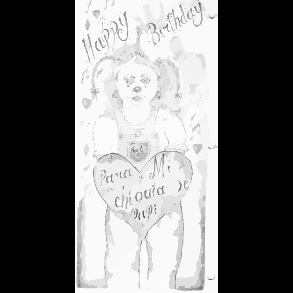 Happy Birthday SVG Clip arts