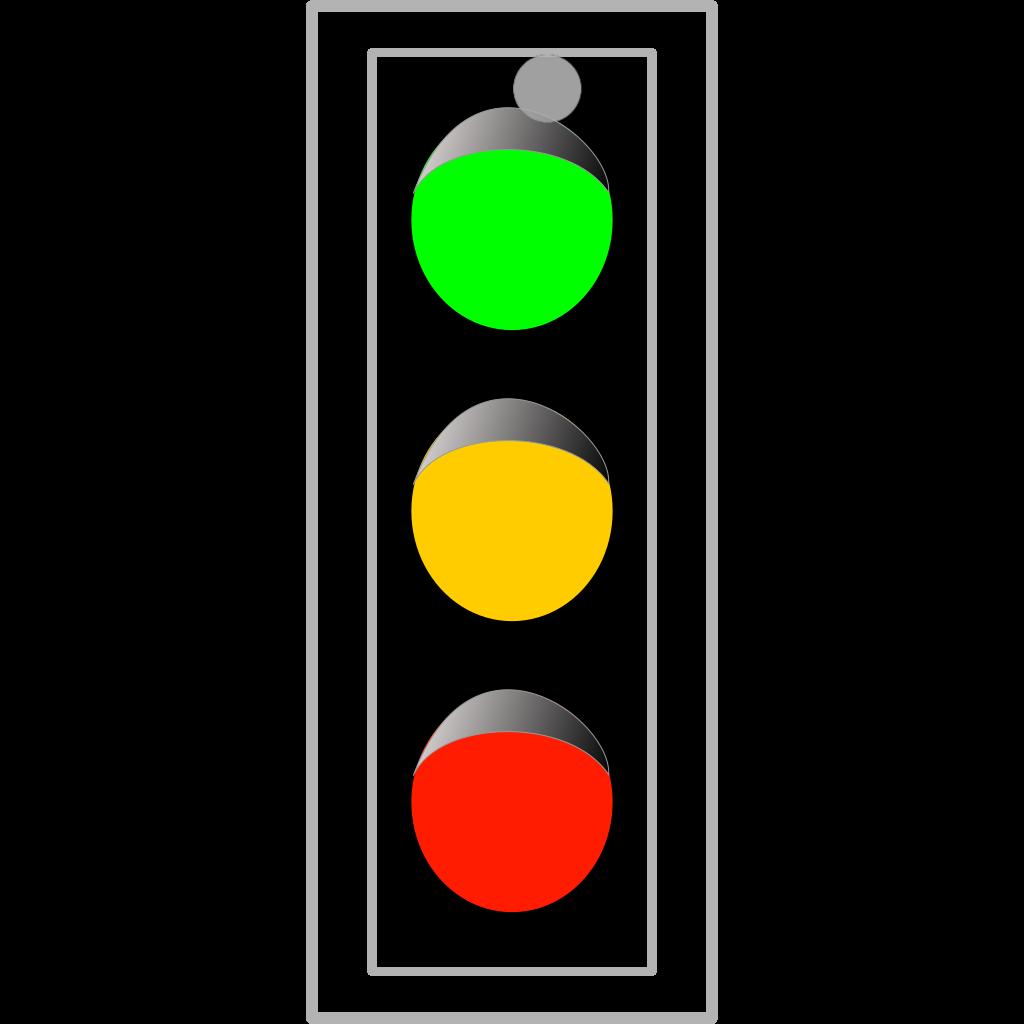 Traffic Light SVG Clip arts