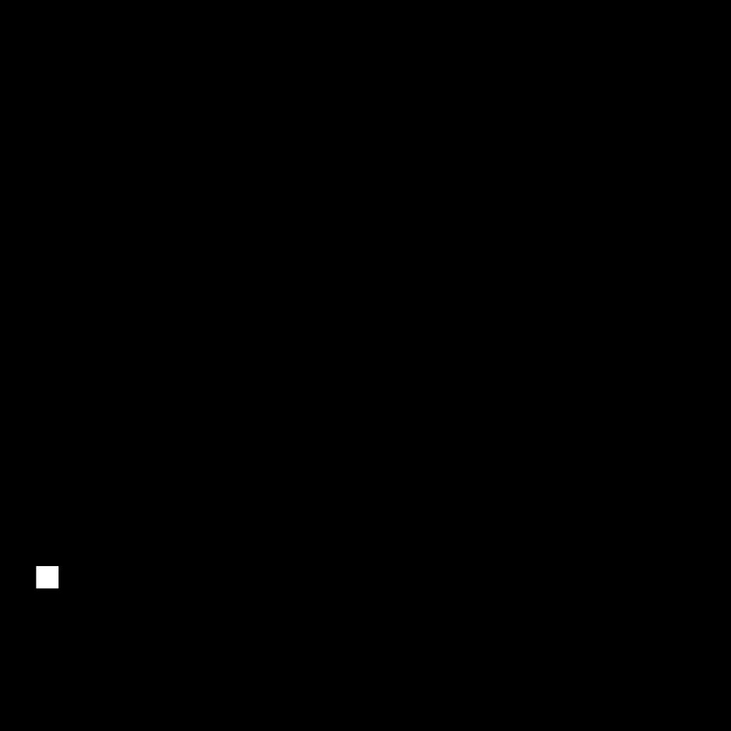 Scissors Black Silhouette SVG Clip arts